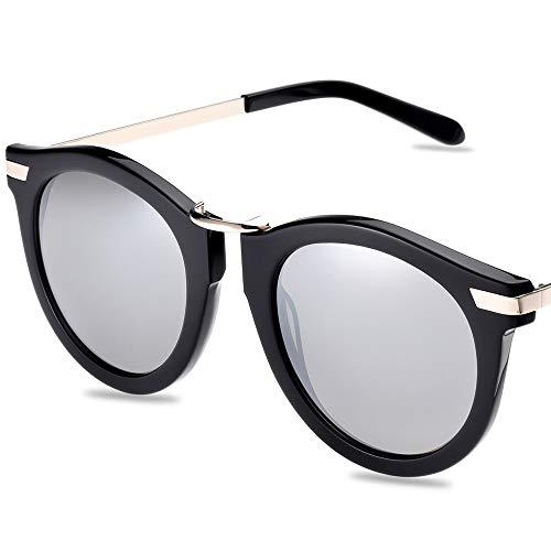 CLL Gafas de Sol japonesas para Mujer Gafas de Sol polarizadas Anti-UV 2019 Moda Caja Grande Cara pequeña Gafas para Mujer