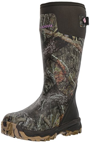 """Lacrosse Women's 376008 Alphaburly Pro 15"""" Waterproof Hunting Boot, Mossy Oak Break-Up Country - 11 D"""