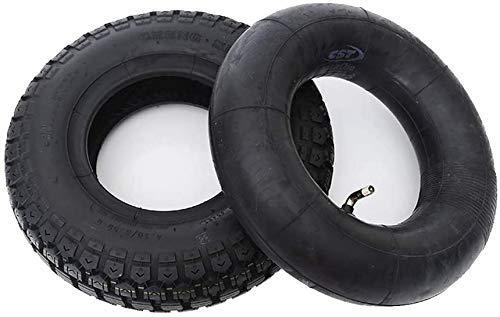 Neumáticos para Patinetes Eléctricos, 4,10/3,50-6 Neumáticos Neumáticos De Caucho, Gruesos Y Resistentes...