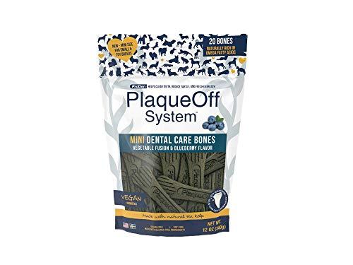 ProDen PlaqueOff Mini Dental Bones Vegetable Fusion & Blueberry (20 pack – 340 g)