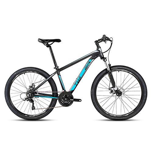 XXL 26 Pollici Bcicletta da Montagna 24 velocità Mountain Bike Freno a Doppio Disco Alluminio Bicicletta Biammortizzata per Uomini e Donne