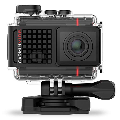 Garmin VIRB Ultra 30 Actionkamera - 4K-HD-Aufnahmen, G-Metrix, Touchscreen, Sprachsteuerung (Generalüberholt)