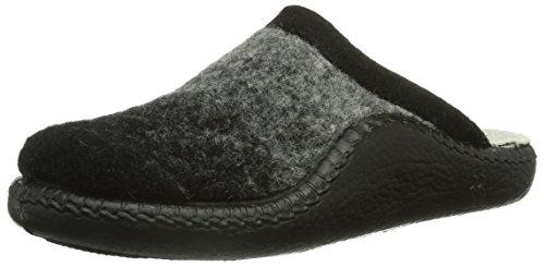 Romika Unisex-Erwachsene Mokasso 85 Pantoffeln, Schwarz (schwarz/100), 36