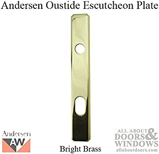 Parts- Escutcheon Plate, Frenchwood Hinged, Outside - Brass
