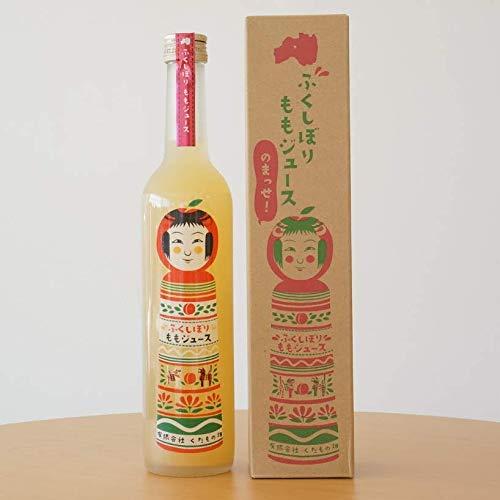 天然果汁 ストレート果汁 ふくしぼり もも ジュース 500ml [ くだもの畑 ]