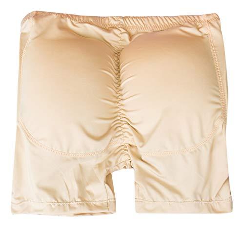 AIEOE Push Up Boxer, gevoerde retroshort, onderbroek met po- en heupkussen, figuurvormende onderbroek