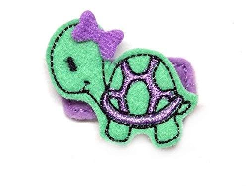 Schildkröte Haarspange für Kleinkinder - freie Farbwahl
