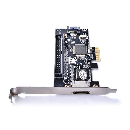 Sun3Drucker PCI-E Express to SATA II eSATA 39Pin IDE(PATA) Expansion Controller Card Adapter JMB363 Chipset
