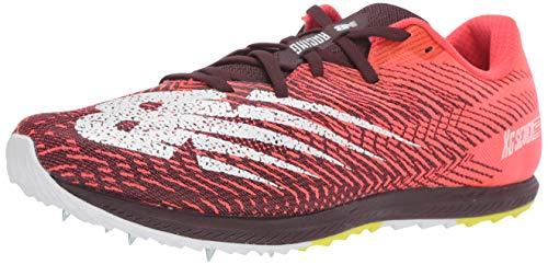 New Balance Men#039s Cross Country Seven V2 Spike Running Shoe Energy RED/Henna 85 D US