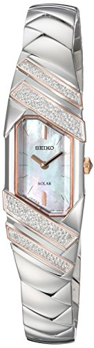 Women's TRESSIA Japanese-Quartz Watch with Stainless-Steel Strap, Silver, 10 (Model: ) - Seiko SUP332