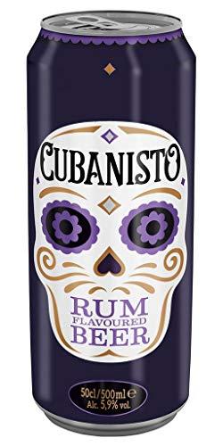 Cubanisto Rhum 50cl (pack de 12 canettes)