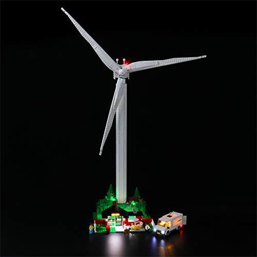 LIGHTAILING Licht-Set Für (Creator Expert Vestas Windkraftanlage) Modell - LED Licht-Set Kompatibel Mit Lego 10268(Modell Nicht Enthalten)
