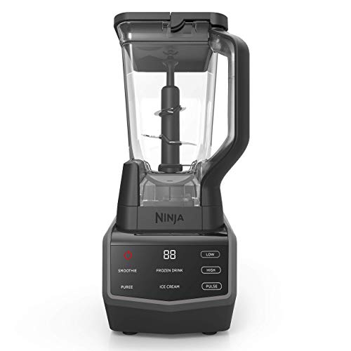 Ninja Smart Screen Blender with 1000-Watt Base, 4-Auto-iQ Programs, Touchscreen Display, Total Crushing Pitcher, (CT650), Black (Renewed)