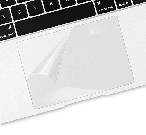 Saco Transparent Laptop Touchpad Protector for All Laptops (Clear, 158x98 mm)