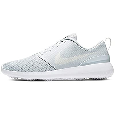Nike Roshe G Spikeless Golf Shoes 2020 Pure Platinum/Metallic White (Numeric_10_Point_5)