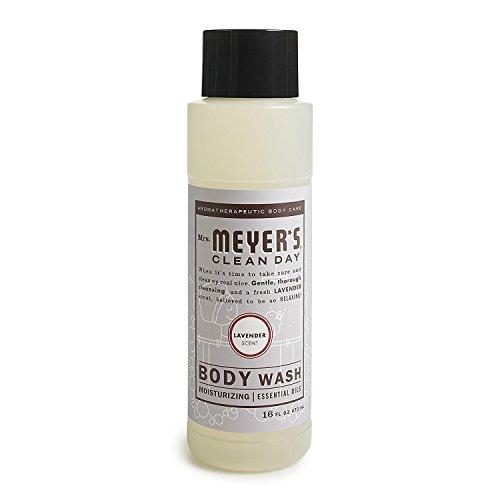Mrs. Meyer's Body Wash,16 fl oz (Pack 3, Lavender