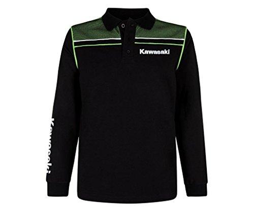 Kawasaki Sports Polo langärmlig Shirt Long Sleeve (S)