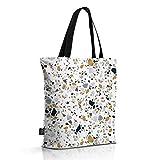OM YA Design Baumwollbeutel - Einkaufstasche aus 100% Baumwolle