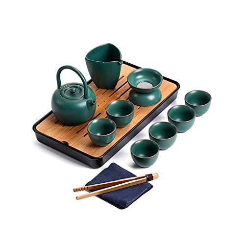 Retro Teapot Making Tea Set, Household Kung Fu Tea Set, Tea Tray, Water Storage Tea Table, Tea Set