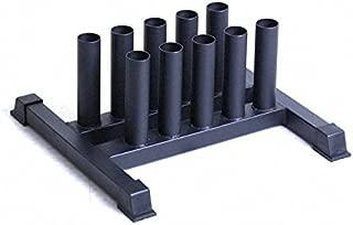 Vertical 10 Bar Barbell Storage - Steel Frame