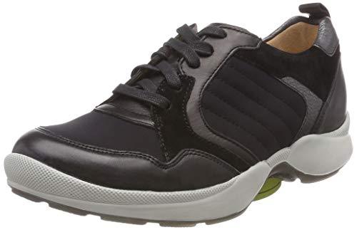 Ganter AKTIV HALI-H, Chaussures de Marche Nordique Femme, Noir 01000, 38 EU