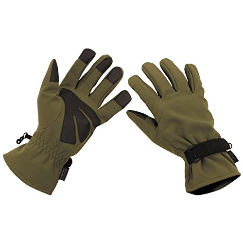 MFH Tactical Fingerhandschuhe Softshell (Oliv/L)