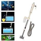 Cocoarm Elektrische Pumpe Aquarium Wasserwechsel Bodenreinigung Mulmsauger Reinigung Wasseraustauschgeräte für