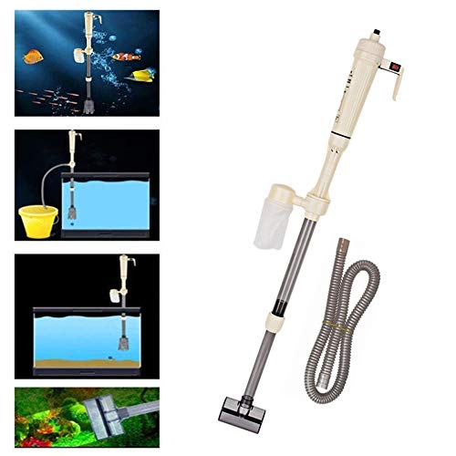 Cocoarm Elektrische Pumpe Aquarium Wasserwechsel Bodenreinigung Mulmsauger Reinigung Wasseraustauschgeräte für Aquarien höhenverstellbar