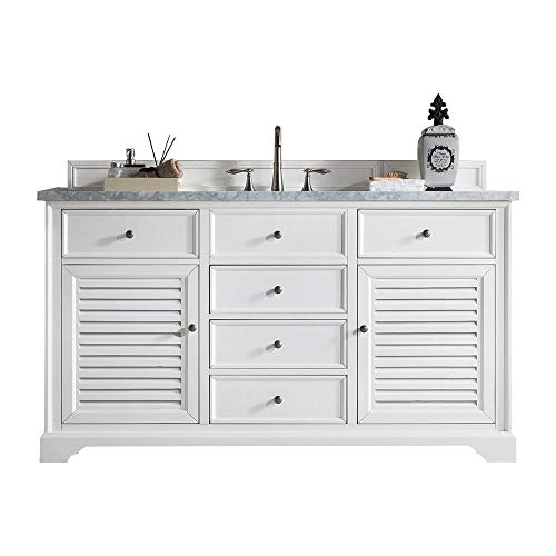 Fantastic Prices! 60 in. Single Sink Vanity with Carrara White Marble Top