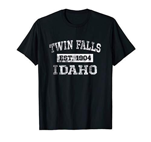 Twin Falls Idaho T Shirt Est. 1904 Distressed