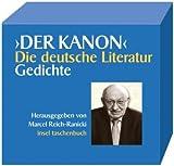 Der Kanon. Die deutsche Literatur. Gedichte (insel taschenbuch)