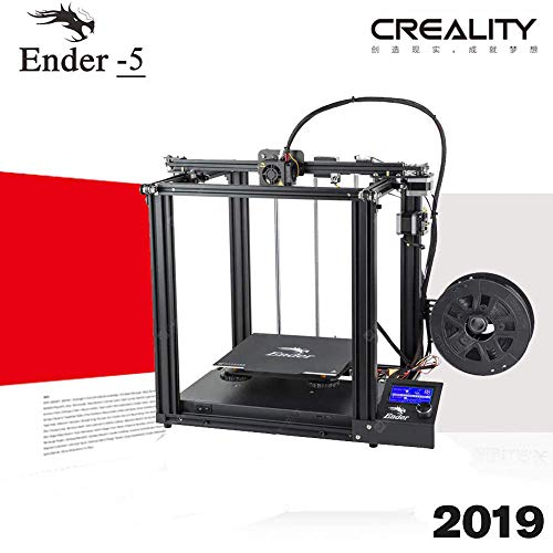 Official Creality Ender 5 FDM 3D Printer with Resume Printing Function and Dual Y-axis 220X220X300mm