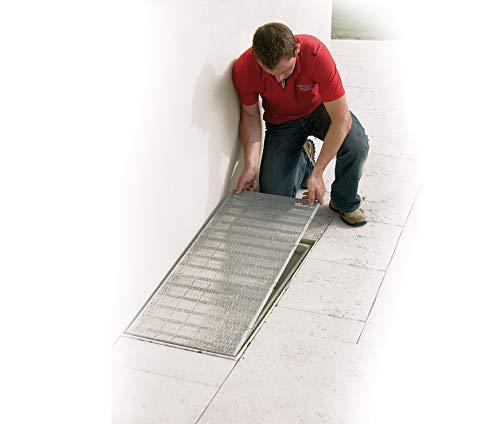 Easy Life 2X Grille Protection de Lucarne en Aluminium 60 x 120 cm pour Les puits de lumière - Grille pour lucarnes/fenêtres de Cave