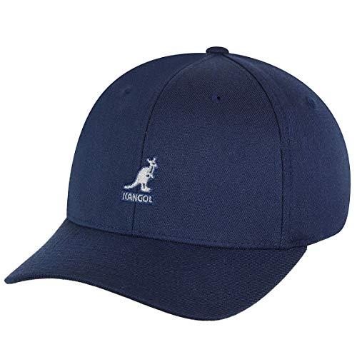 Kangol Herren Wool Flexfit Baseball Cap, Blau, Herstellergröße:Large/X-Large