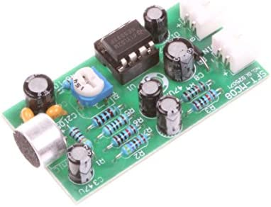 NOYITO 12V High fidelity Microphone Pickup Module Noise Reduction Microphone Amplifier Board product image