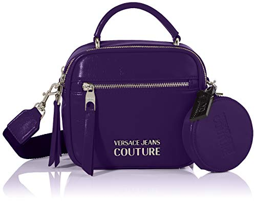 Versace Jeans, Borsa a mano Donna, Viola (Accademi), 7x16x18 cm (W x H x L)