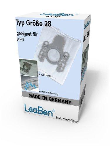 20 Staubsaugerbeutel geeignet für AEG CE 2000, CE Power24, Größe 28, Vampyr CE Serie Made in Germany #A07GR