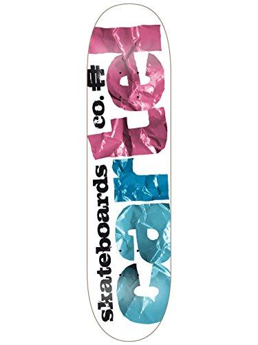 Cartel Crafts Schneidbrett Skateboard Deck Blau blau 7.8
