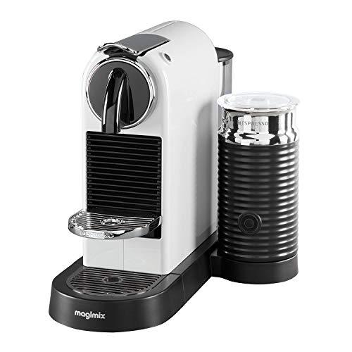 Nespresso 11319 Citiz and Milk Coffee Machine, White - by Magimix