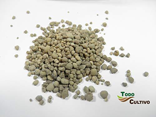 Sulfato de Hierro granulado 25 Kilos. Abono de Fondo Utilizado para Tratar Las clorosis férricas o amarillamiento de Las Plantas.