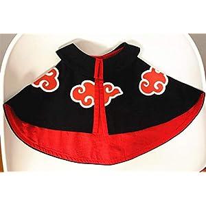 YUYU Naruto Akatsuki Organization Red Cloud Cloak Pet Cat Dog Supplies Clothes Cosplay Costume Ninja Dress Up