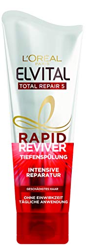 L'Oréal Paris Elvital Rapid Reviver Total Repair 5 Tiefenspülung 1er Pack (1 x 180 milliliters)