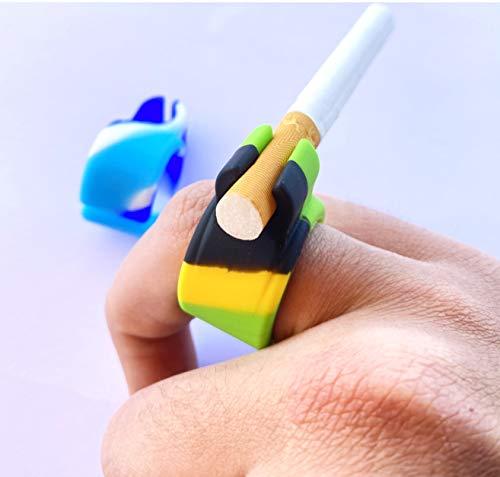 Anillo de silicona para cigarrillo, manos libres, anillo gamer para jugadores de...