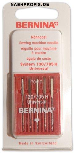 BERNINA Nadeln für Webware, Stärke 70/10, Universal-Nadeln