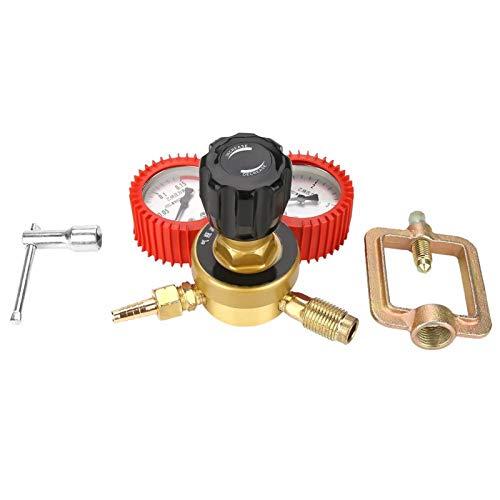 Buen sellado, 0.01-0.15 (MPa), cobre, regulador de presión, medidor de gas acetileno, 1006 g, para cultivo de plantas agrícolas para soldadura con gas