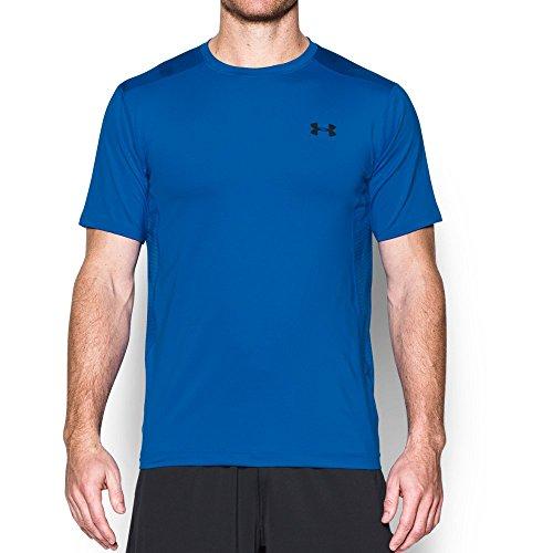 Under Armour UA Raid SS Camiseta Deporte, Hombre, Azul (Blue Marker), LG