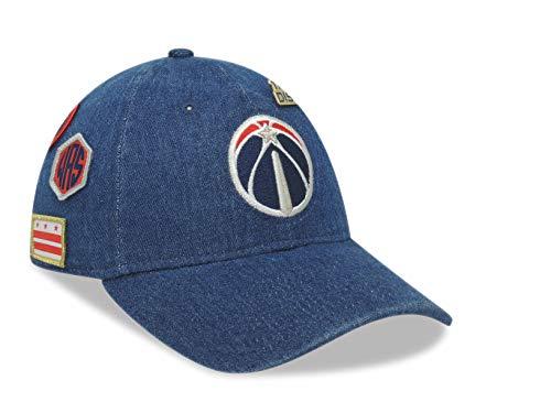 New Era Washington Wizards NBA 2018 Draft Official Sideline Onfield 920 9TWENTY Adjustable Cap Hat (One Size)