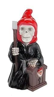 Reaper Dwarf garden gnome plastic
