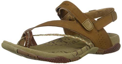 Merrell Womens Siena Light Brown Sandal Light Brown 36