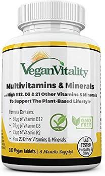 vegan vitamins for women